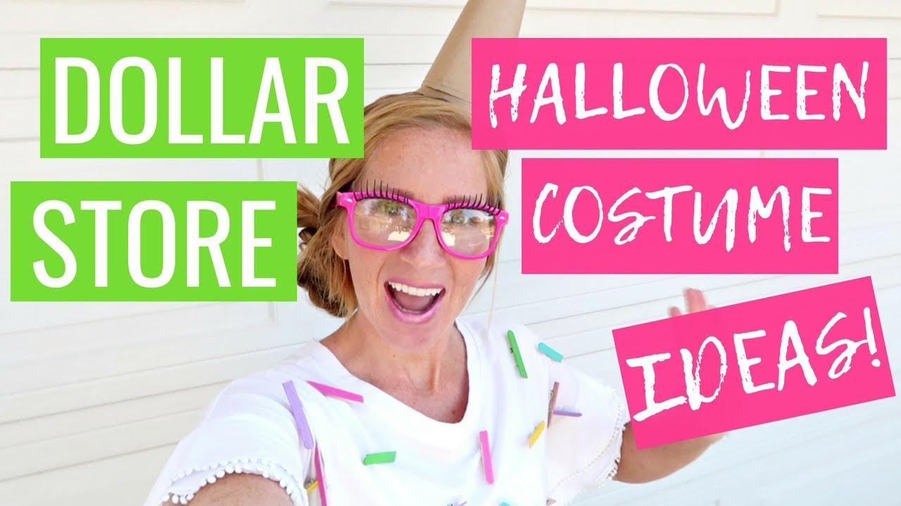 Dollar Store Halloween Costume Ideas 2018