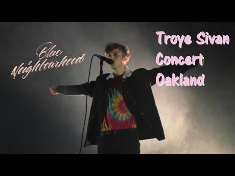 Troye Sivan Concert Oakland! My experience, tips, & vlog