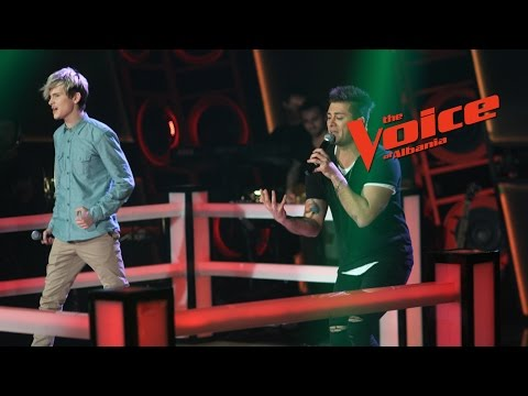 Fatlum VS Thomas – Mercy   Betejat   The Voice of Albania 6