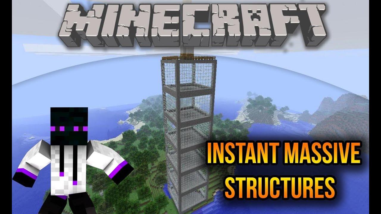 Minecraft 1 7 10 1 7 2 1 6 4 Descargar E Instalar Instant Massive Structures Mod