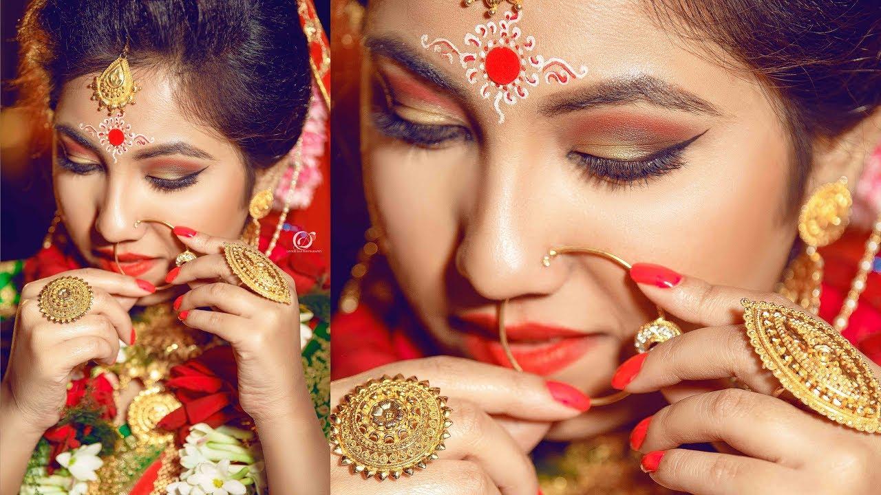 Mehndi Makeup Artist : Indian bengali bridal makeup artist kishor rai