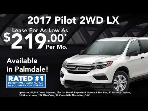 2017 Pilot 2WD LX - RPH Lease Special