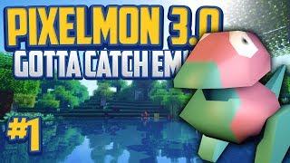 Minecraft Pixelmon 3.0 'PORYGON Starter' Gotta Catch 'Em All - Episode 1