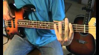 Creedence Clearwater Revival - Hey Tonight - Bass Cover