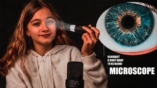 WHAT DOES IT LOOK LIKE UNDER THE MICROSCOPE? (asmr)