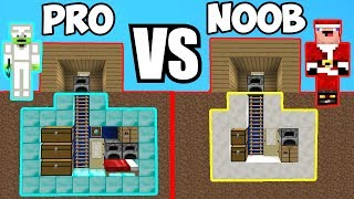MINECRAFT NOOB VS PRO: HABITACIONES SECRETAS EPICAS EN MINECRAFT 😯