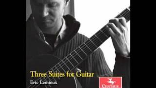 Hommage a Villa-Lobos - Contemporary Guitar Music - Eric Lemieux.mov