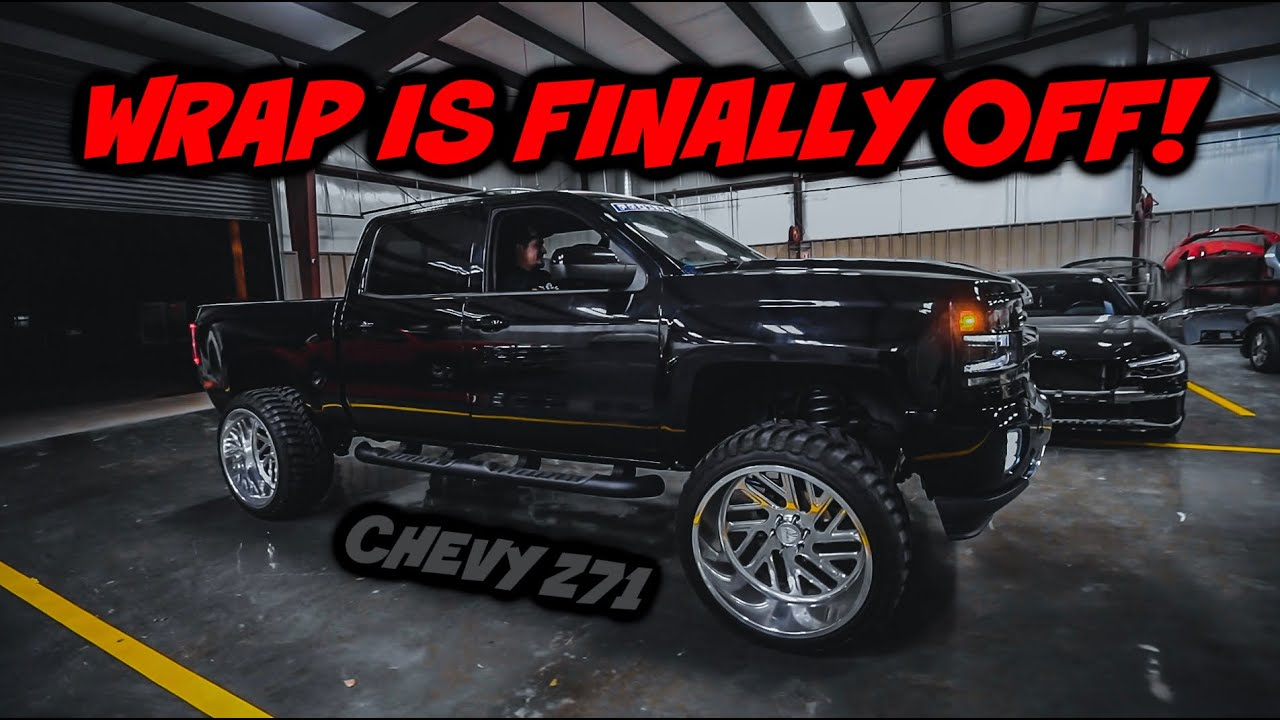SILVERADO Z71 FINALLY BACK TO BLACK! - download from YouTube for free