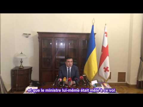 Ukraine. Saakachvili sur le scandale avec Iatseniouk et Avakov.