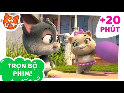 44 Con Mèo   20 PHÚT các tập phim! [TẬP FULL]
