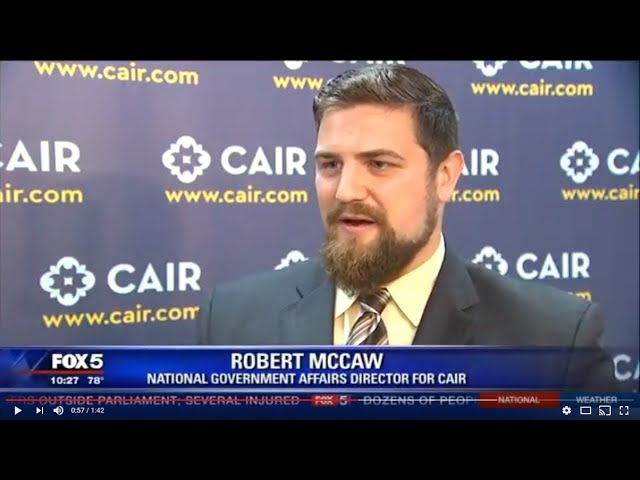 Video: CAIR Says Virginia Hotel Should Not Host Anti-Muslim Hate Group ACT For America