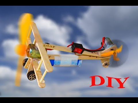 How to mke a plane - Toy Powerd Plane