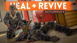 BATTLEFIELD 5: How To Heal And Revive Players! (Medic Tips)