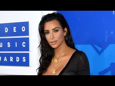 Kim Kardashian Lets Fans Choose Her MTV VMA Dress -- See What She Wore