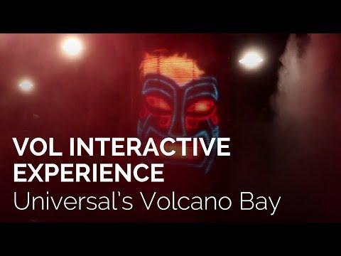 Vol Interactive Character at Universal's Volcano Bay