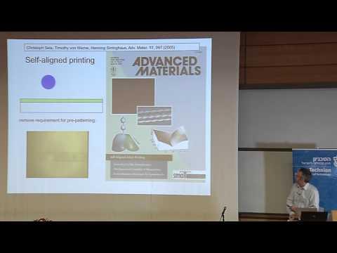 Plastic Electronics -- Prof. Sir Richard Friend Harvey Prize Laureate