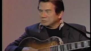 1994年に放送された寺内ヘンドリックスにて 田端義夫と 野村義男のギタ...