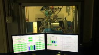 Katech LT1 427 running Daytana durability simulation on the engine dyno