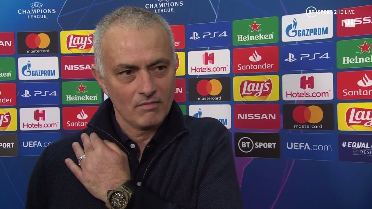 """""""We don't need a massive rebuild"""" Jose Mourinho philosophical after Leipzig loss"""
