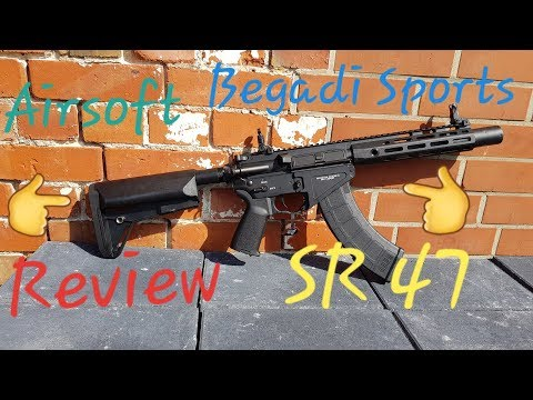 Airsoft Review: Begadi Sports Keymod kurz SR 47 Gen 3 sAEG Mosfet