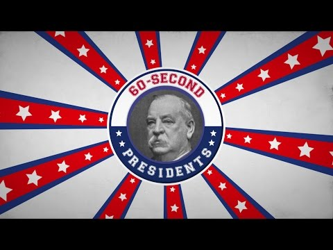 Grover Cleveland | 60-Second Presidents | PBS