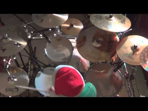 Reliant K - 12 Days of Christmas - Drum Cover