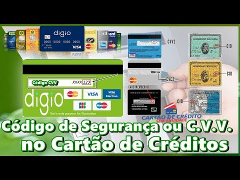 Codigo De Seguranca Ou C V V No Cartao De Creditos Youtube