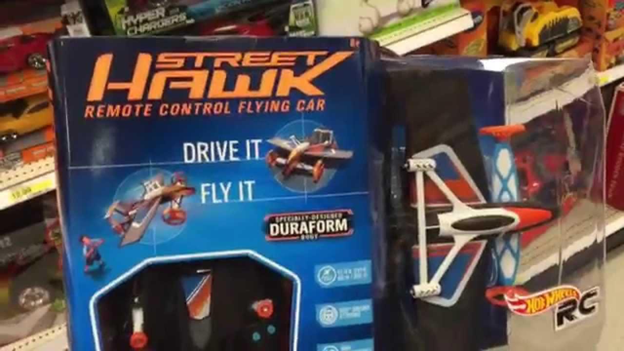hot wheels street hawk remote control flying car rc. Black Bedroom Furniture Sets. Home Design Ideas