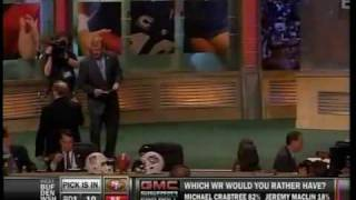 49ers Select Michael Crabtree at 10TH Overall Pick