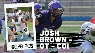 Josh Brown, OT, College of Idaho | 2020 NFL Draft Prospect Highlights  | NAIA's Best O Lineman