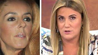 La inesperada denuncia contra Carlota Corredera y Sálvame y comunicado por Rocío Carrasco