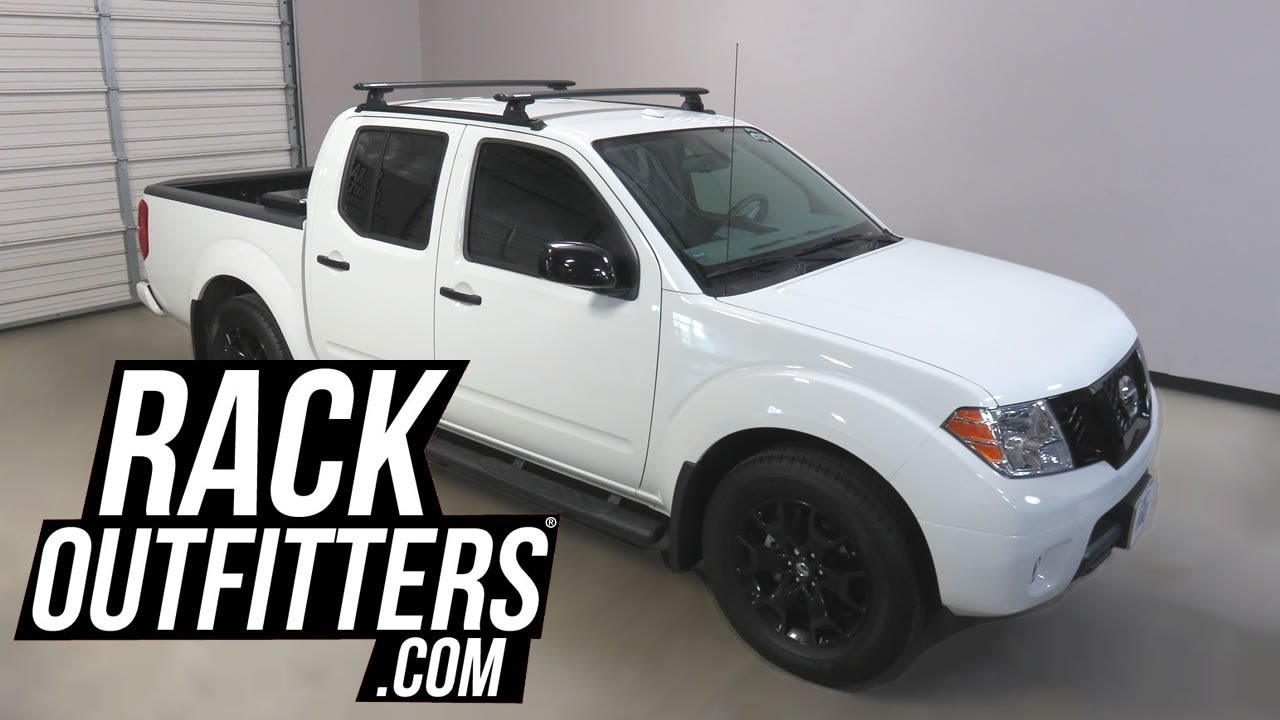 medium resolution of 2005 nissan frontier crew cab with rhino rack vortex aero quick mount roof rack on rts tracks
