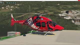 Video X-Plane 11 - Bell 429 - Zermatt - Hornlihutte download MP3, 3GP, MP4, WEBM, AVI, FLV Oktober 2018