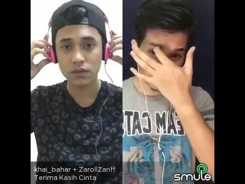 Terima kasih cinta by Afgan -Zaroll Zariff & Khai Bahar (Smule Malaysia)