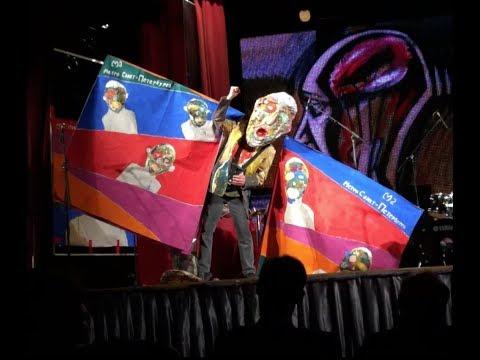 JASUN MARTZ avant-garde LIVE performance in Russia. Art  Music