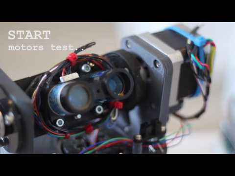 Home made 3D laser scanner