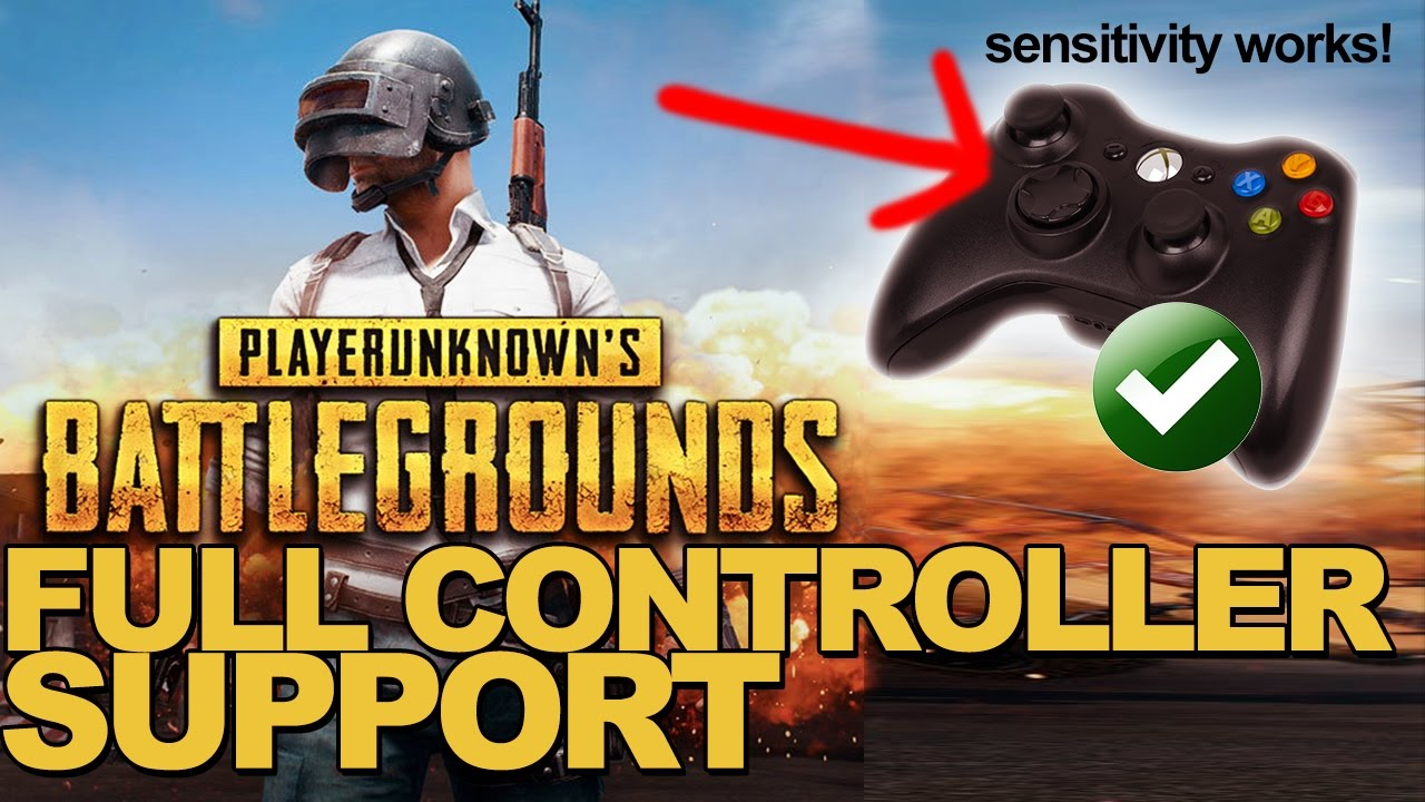 Playerunknown S Battlegrounds For Xbox Controls Revealed: Playerunknown's Battlegrounds FULL CONTROLLER SUPPORT