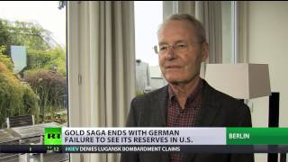Germany missing 45% of its gold 'stored in US'