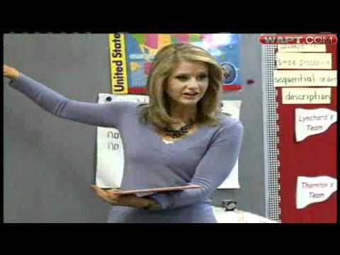 WAPT's Megan West Reads To Children