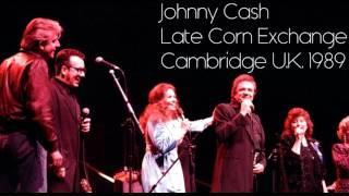 Johnny Cash - Late Corn Exchange Cambridge, United Kingdom 1989 (Full Concert) [audio]
