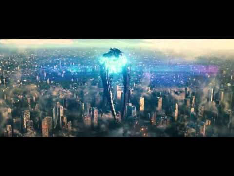 Man of Steel Destroying the Kryptonian Ship 720p