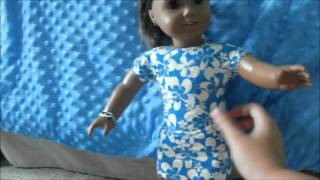 Repeat youtube video How to make an american girl doll dress form