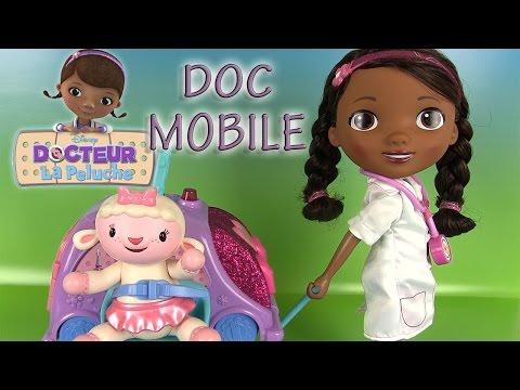Docteur la peluche Doc McStuffins Doc Mobile Jouets Poupon avec clinique mobile et accessoires