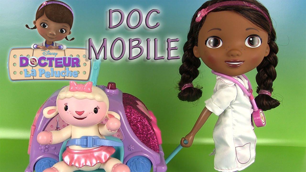 Docteur la peluche doc mcstuffins doc mobile jouets poupon - Jouet doc la peluche ...