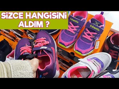 Alışveriş Rutinim   Annemle Spor Ayakkabısı Almaya Gittik   Acaba Nasıl Bir Ayakkabı Aldık ?