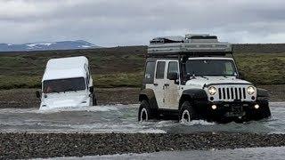 Island 2018 Offroad Tour ... mit dem Jeep Wrangler Rubicon durch´s Hochland