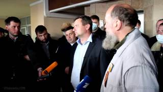 Donetsk demands the autonomy and the referendum
