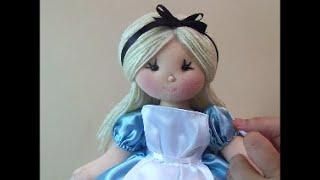 Alice no país das maravilhas (passo a passo roupinha)