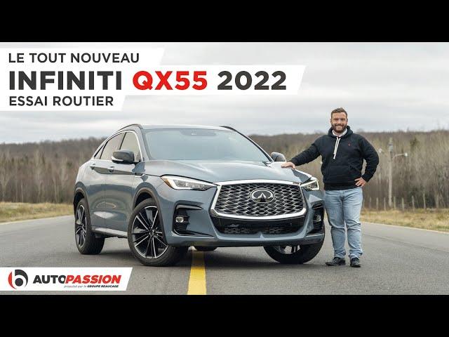 Infiniti QX55 2022 - Le Plus Beau Des VUS Coupés ?