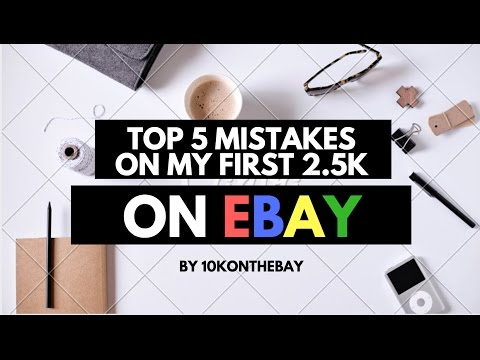 E45: Live Q&A! Top 5 Mistakes from my first 2500 listings on eBay. 10k Update